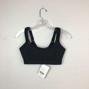 30ef0aa80b5 NWT Fabletics sports bra black clasp XXS
